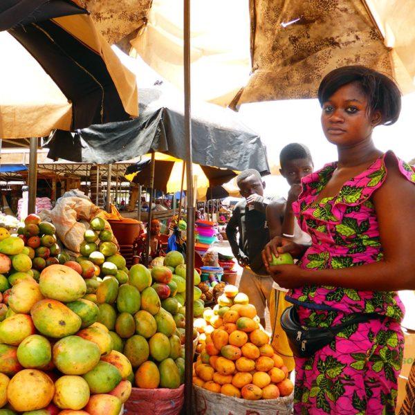 Wochenmarkt in Burkina Faso